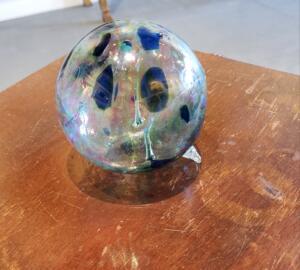 Witch Ball   |  Hand Blown Glass   |  $50