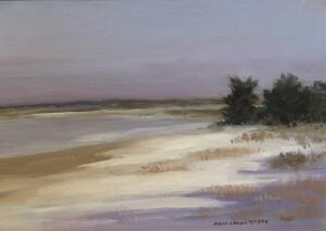 A WINTERS DAY  |  Oil on canvas on board  |  9 x 12  |  15 x 18 Framed  |  $800