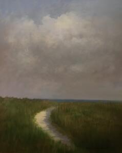 STORMY DAY     Oil on board     20 x 16     26 x 22 Framed     $1700
