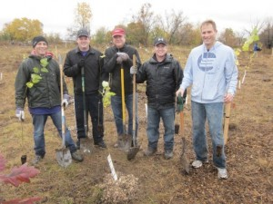 G.E. Power & Water Day of Caring tree planting Oct. 2014 059