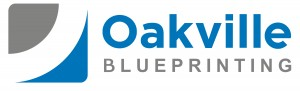 Oakville Blueprinting Logo