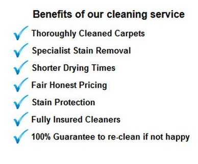 Benifits carpet cleaning - Carpet Cleaning