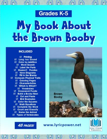 book cover about the brown booby bird