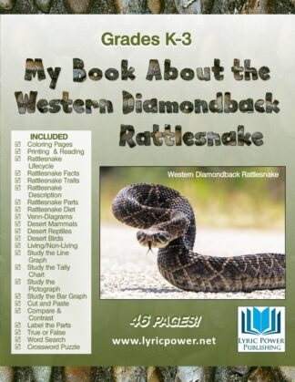 Book cover Western Diamondback Rattlesnake
