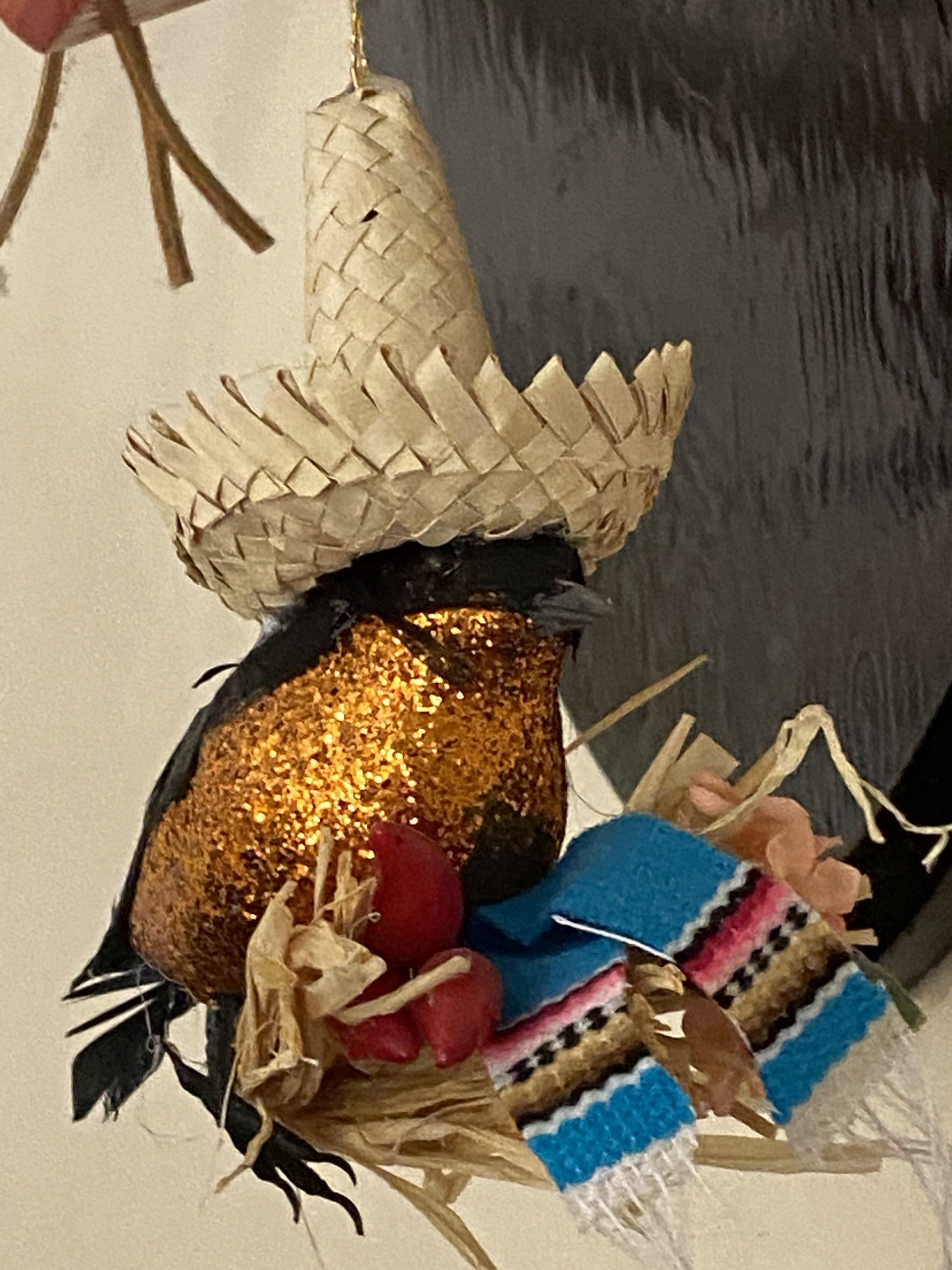desert Bird ornament