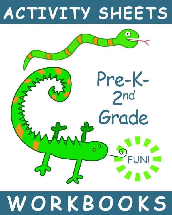 graphic for PreK-2nd workbooks