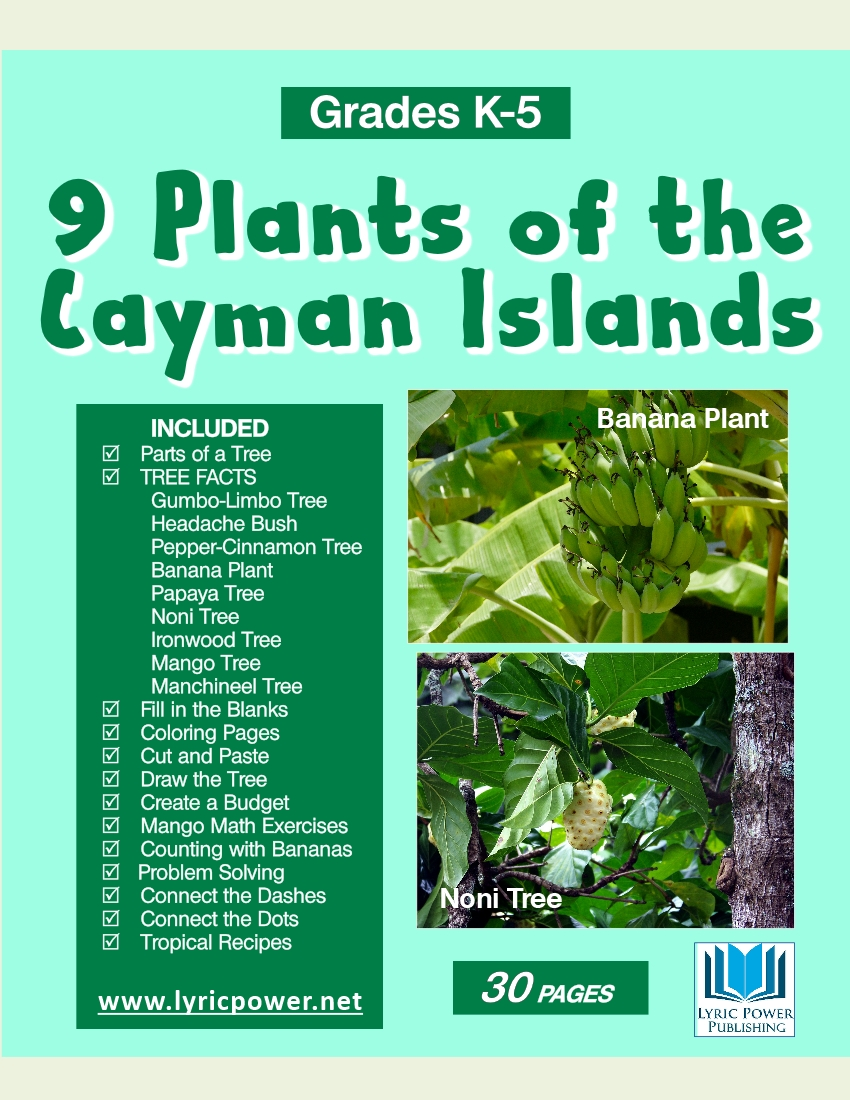 book covers 9 plants of cayman islands
