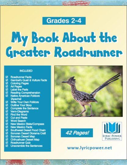 book cover Greater Roadrunner grades 2-4