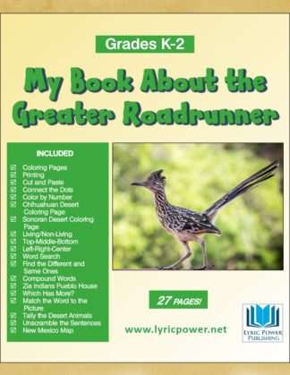 book cover Greater Roadrunner grades K-2