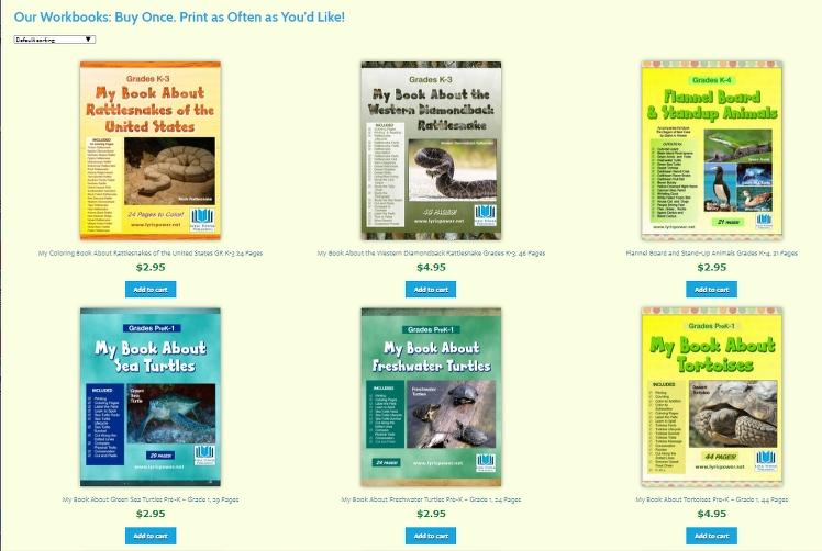 image of six workbooks