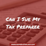 Do I need to sign my tax return
