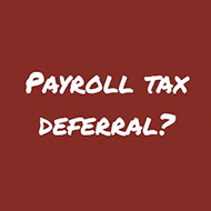 How the Social Security Payroll Tax Deferral Works 2020