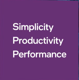 Intel Simplicity Productivity Performance