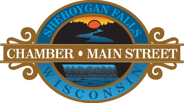 Sheboygan Falls Chamber Main Street logo
