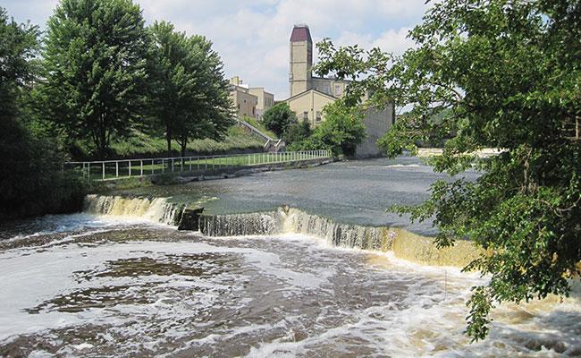 Sheboygan Falls lower falls
