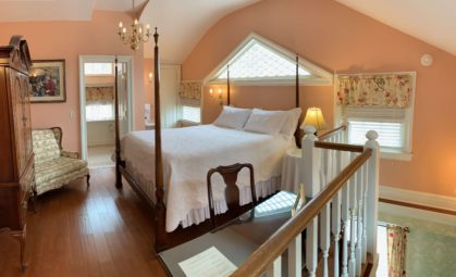 signature two story suite room The Rochester Inn