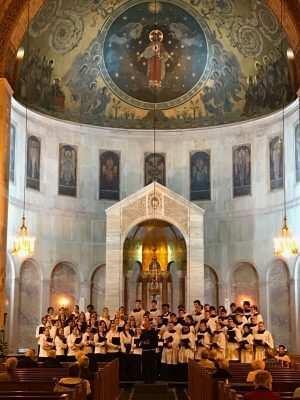 St, Anthony HS Chorus in Brentwood