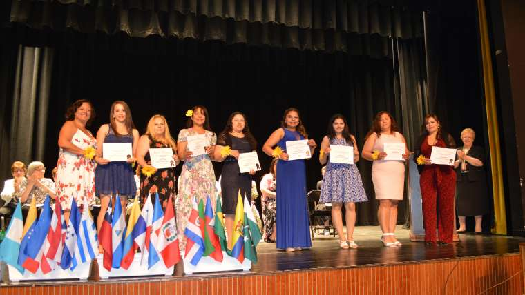 The CSJ Learning Connection's 2018 Graduation Ceremony