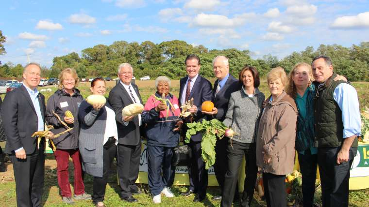 Island Harvest Food Bank Inaugurates 1.8-Acre Giving Garden to Bring More Nutritious Produce to Food Insecure Long Islanders