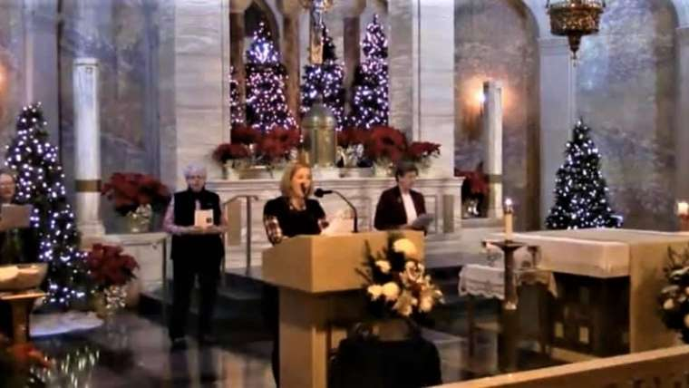 Christmas From Sacred Heart Chapel