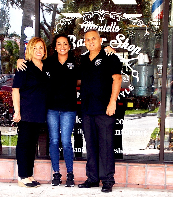 Maniello Barber Shop   Family Owned and Operated