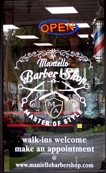 Maniello Barber Shop   Master Of Style   West Boynton Beach