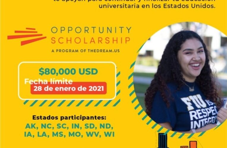 Becas disponibles para estudiantes de Iowa beneficiarios del programa DACA