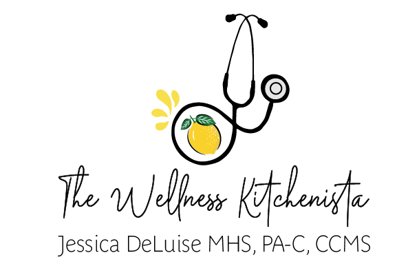 The Wellness Kitchenista, Jessica DeLuise, MHS, , PA-C, CCMS