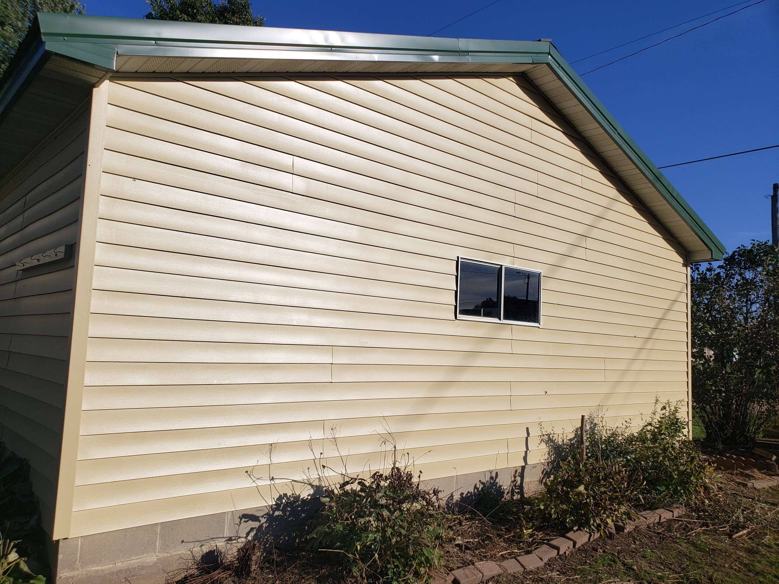 After Painting Boone Garage, Great Plains Painting