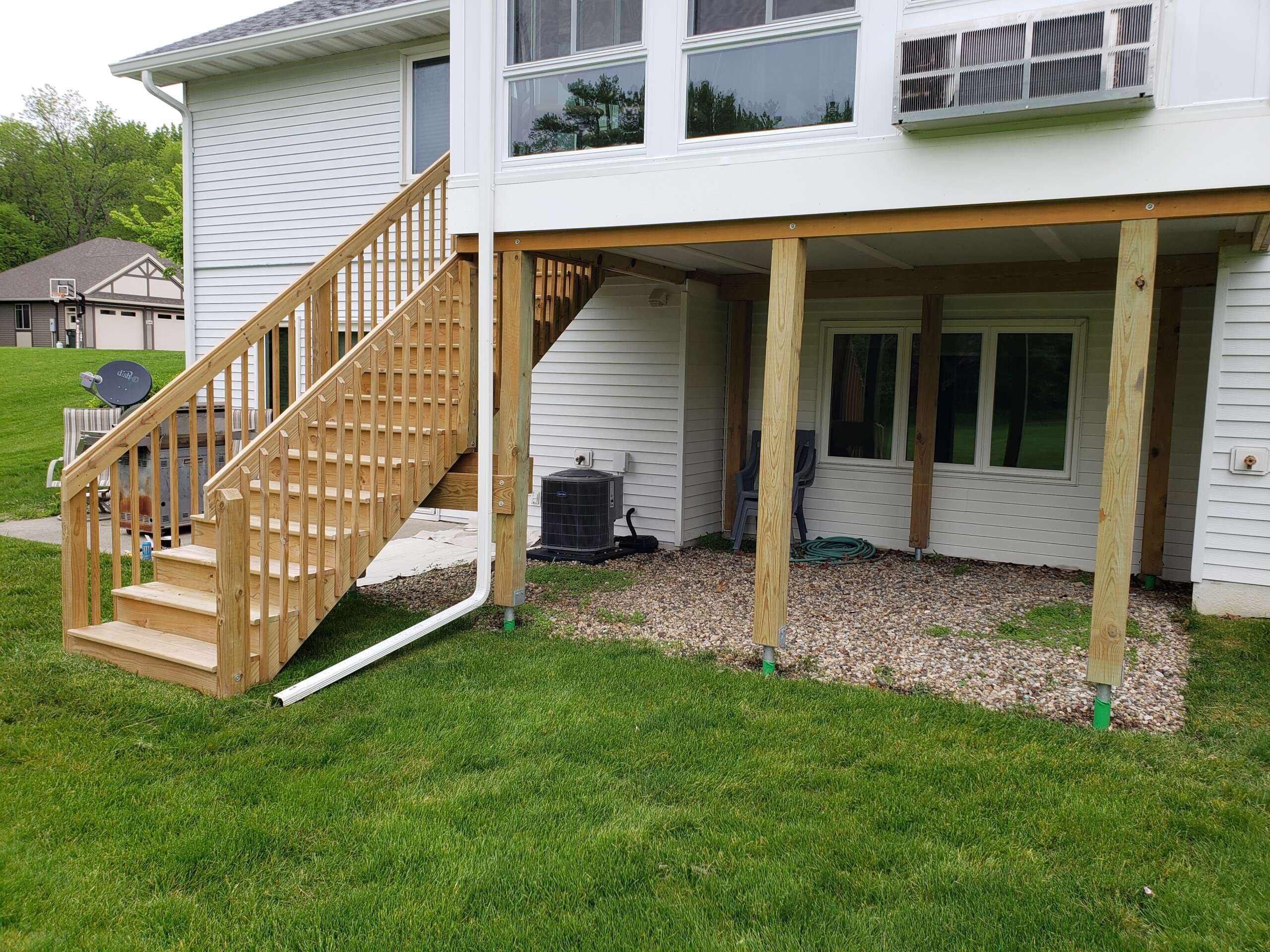 Before New Deck Staining