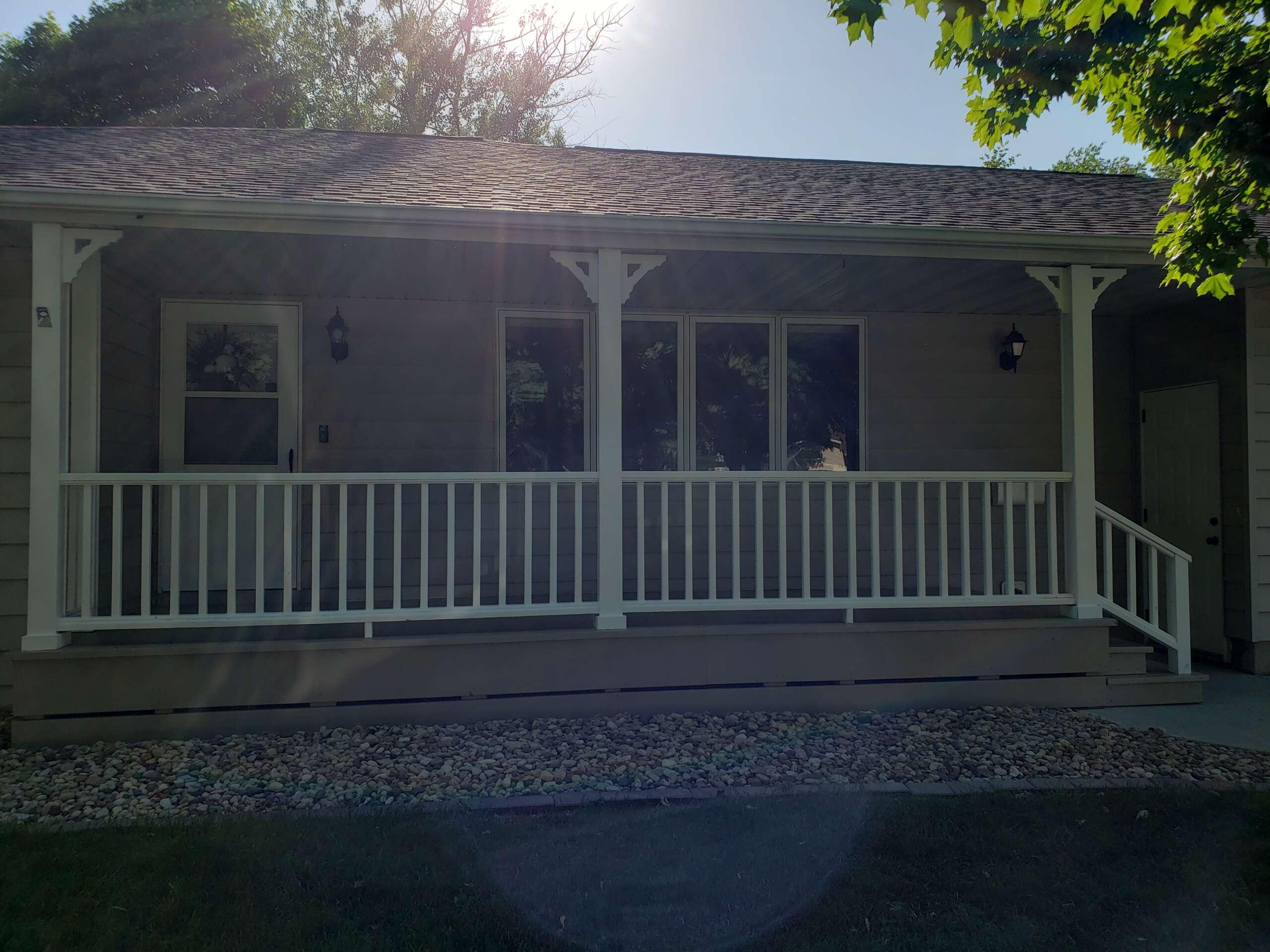 After Exterior Porch Paint