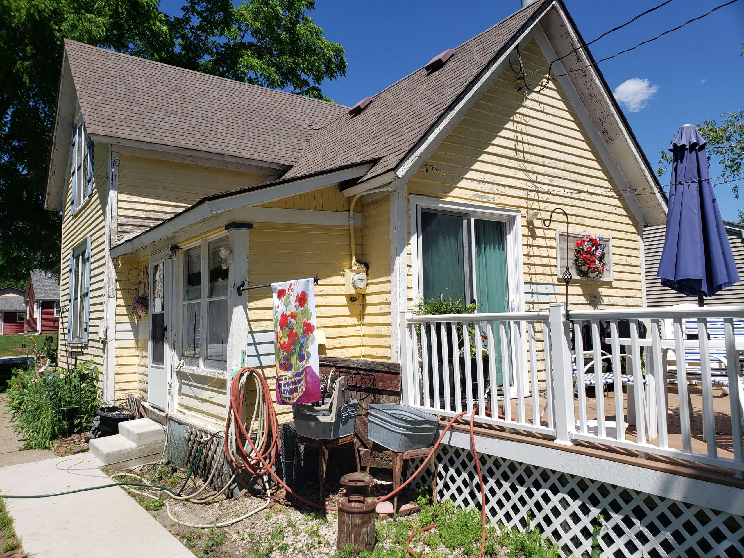 Before Exterior House Paint