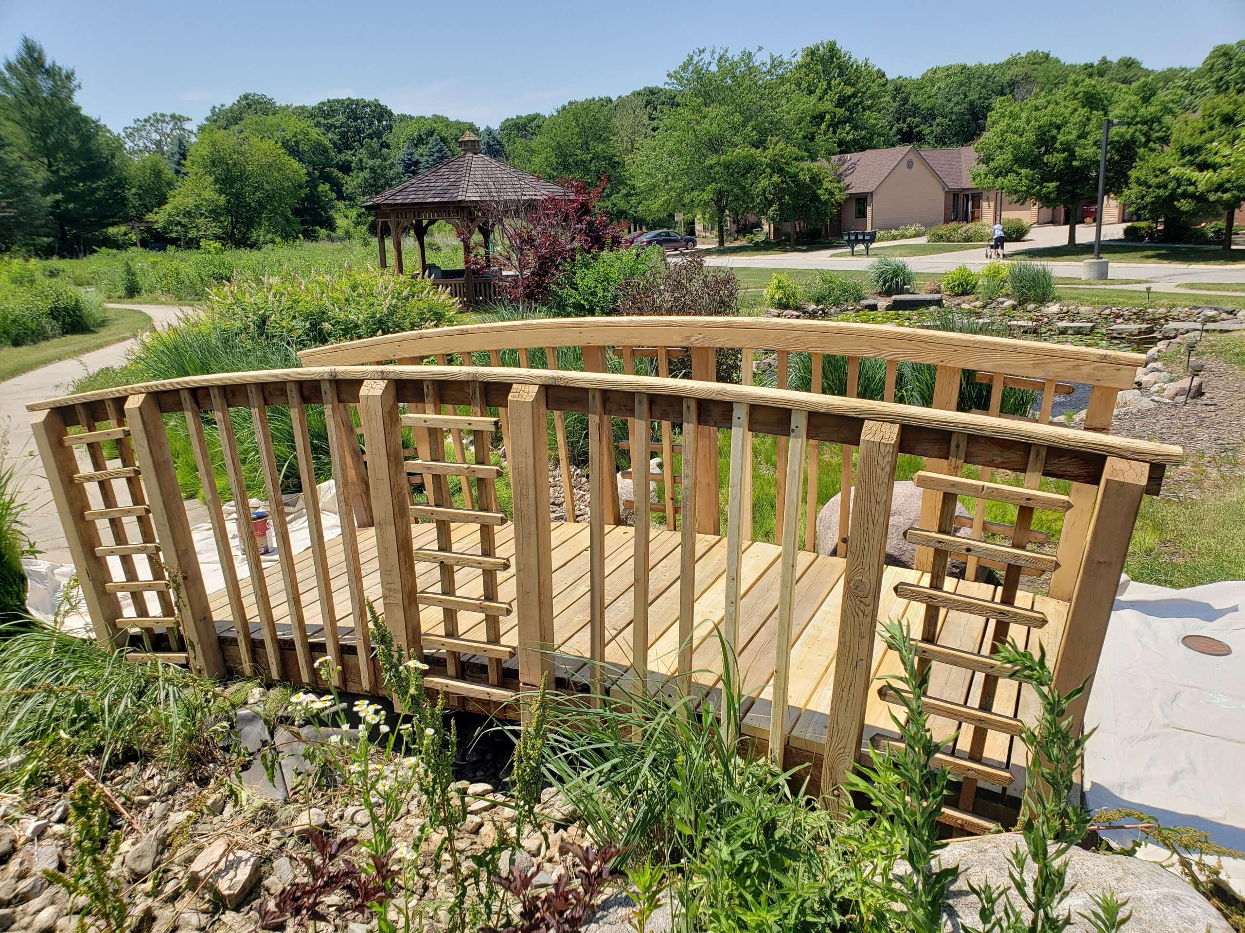 Before Wooden Bridge Refinish