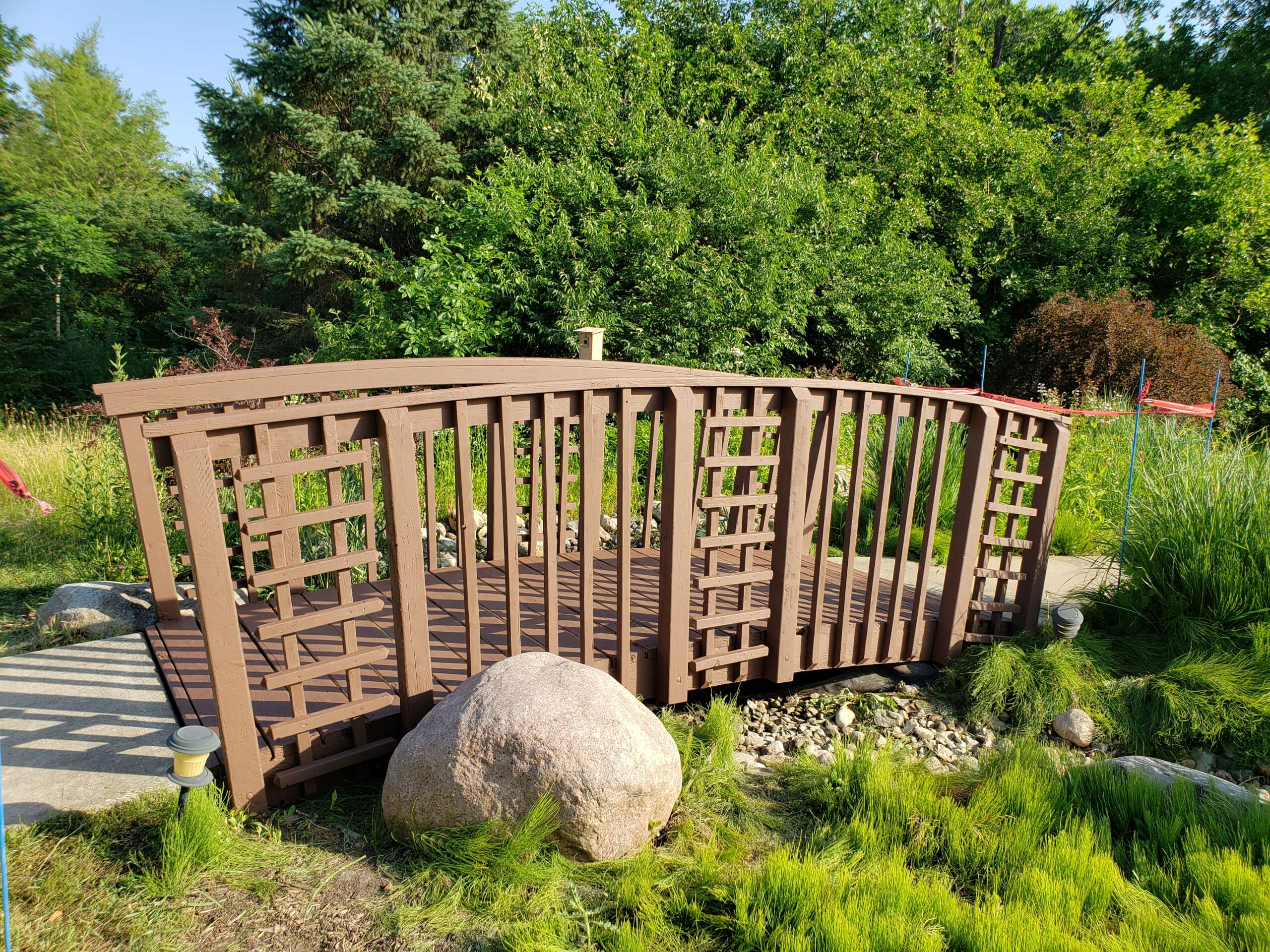 After Wooden Bridge Refinish