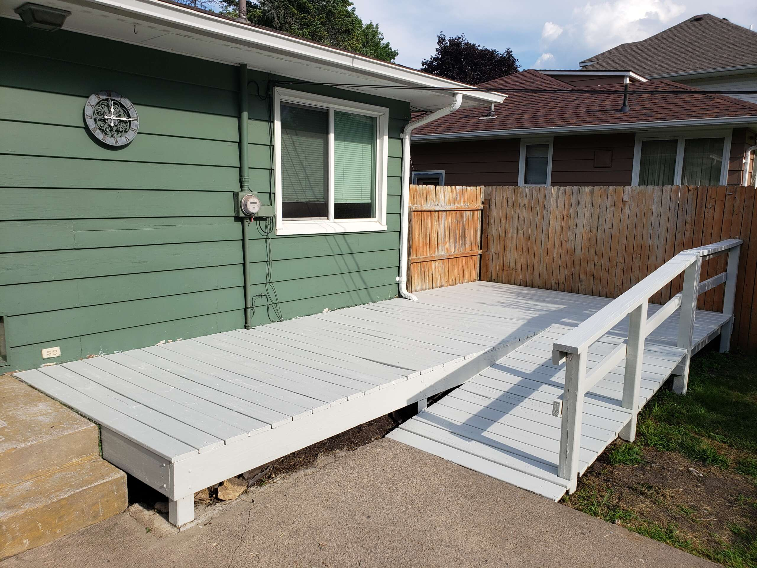 After Painting Deck