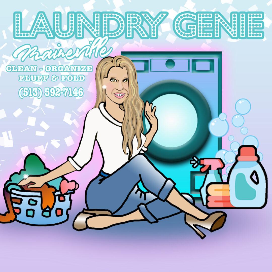 laundry company logo