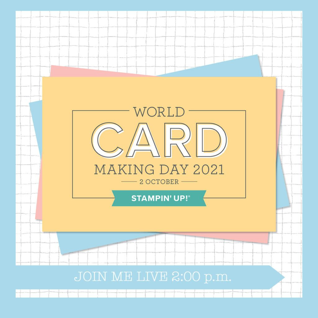 Live Stream for World Card Making Day 2021