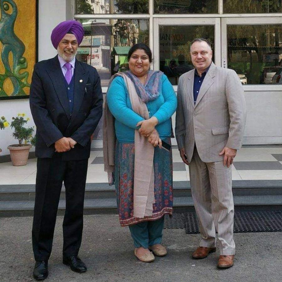 India, Collaboration with Gurdeepak Singh