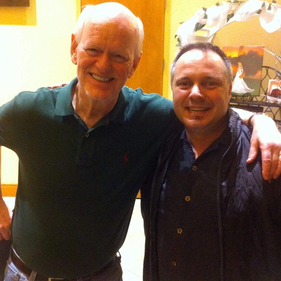 With Marshall Goldmsith