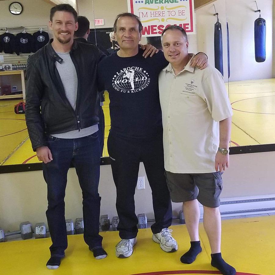 Shannon Graham and Tom LaRoche, 4x World Kickboxing Champion