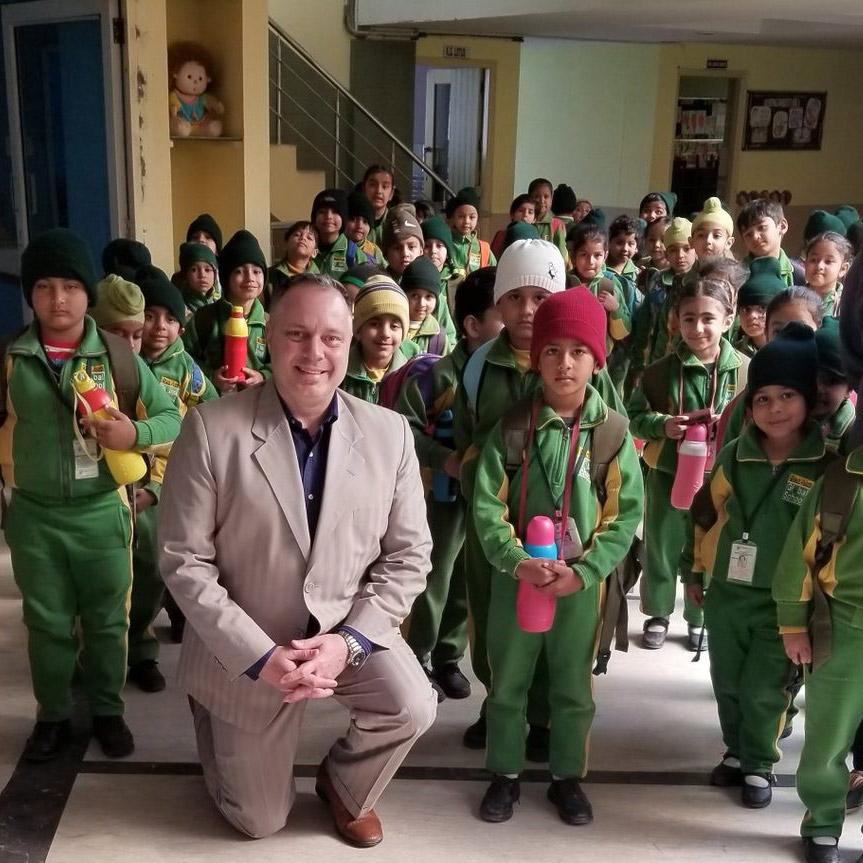 Childrens program in India