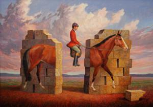 """""""The Intrepid Horseman"""" - © Curt Frankenstein"""