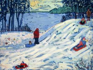 """Winter Fun At Manitowish"" -- © Susan Hale"
