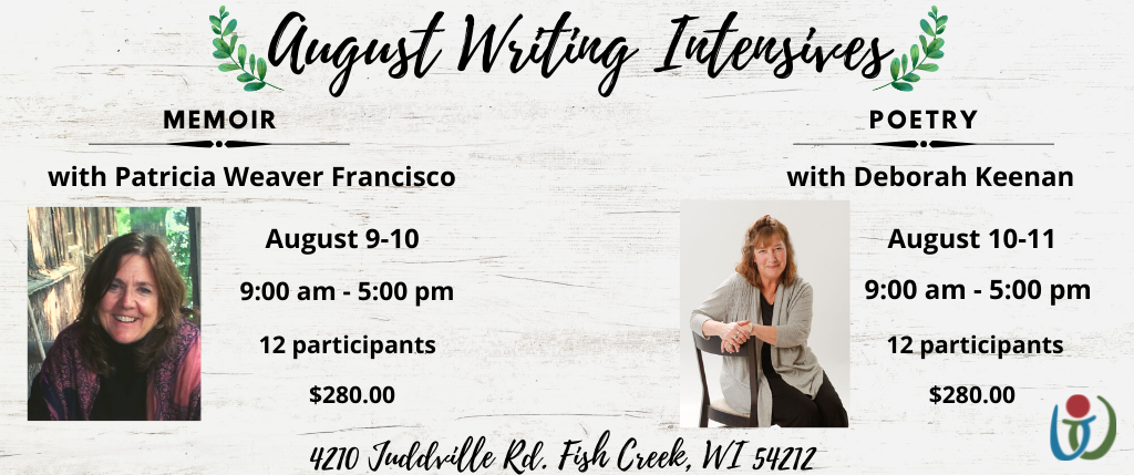 Memoir and Poetry Intensive August graphic (1)