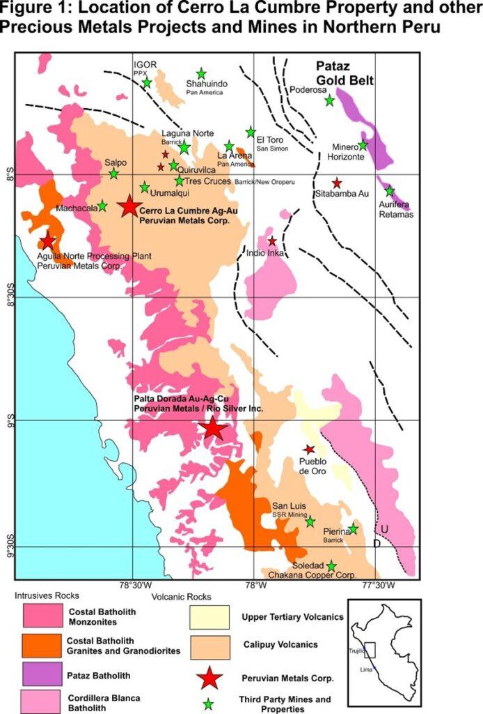 Cerro La Cumbre Property Map
