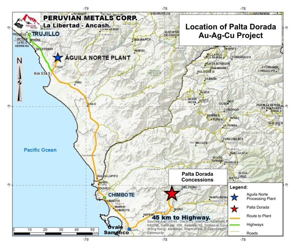 Palta Dorada Property Map