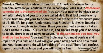 Freedom Tract Back