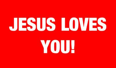 Jesus Loves you English_Front