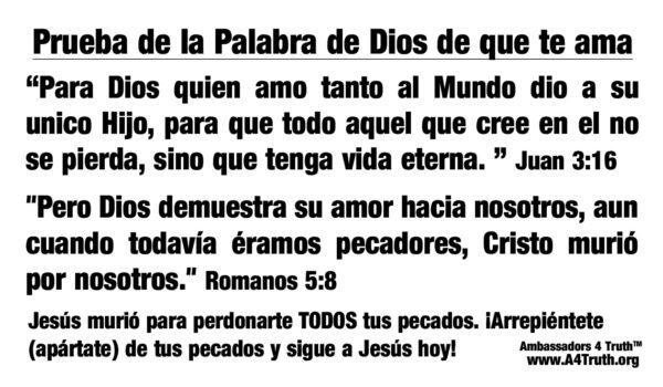 Jesus Loves you Spanish_Back