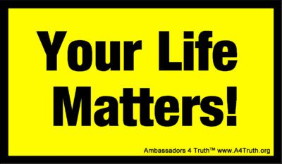 Your Life Matters Gospel Tract Front_Business Card Size